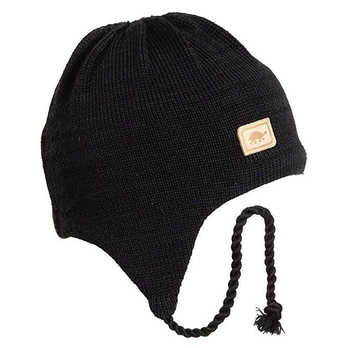 7c657d3d65a Turtle Fur Men s Solid Classic Wool Ski Hat Earflap