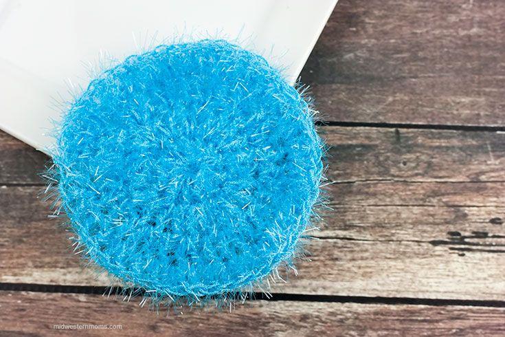 Simple Round Dish Scrubbie Pattern | Crafts | Crochet ...