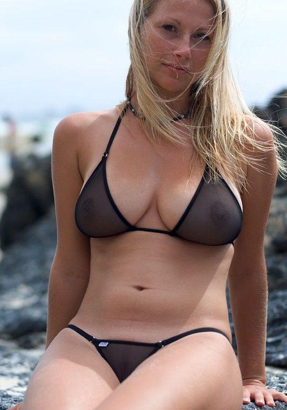 Bikini POV milf