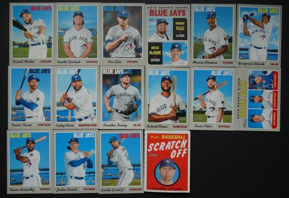 2018 Topps Heritage Minor League Chicago White Sox Team Set Of 9 Baseball Cards
