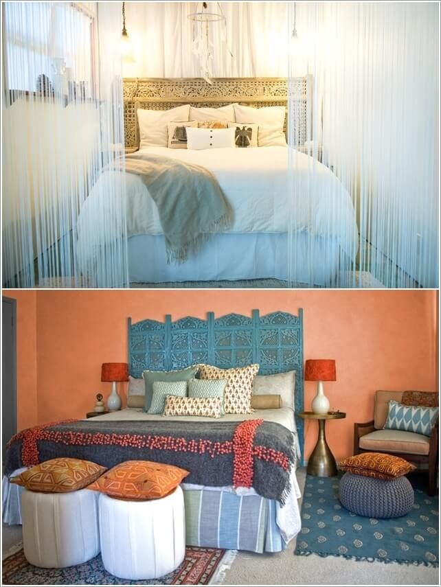 design your bedroom with a spice of ornate details