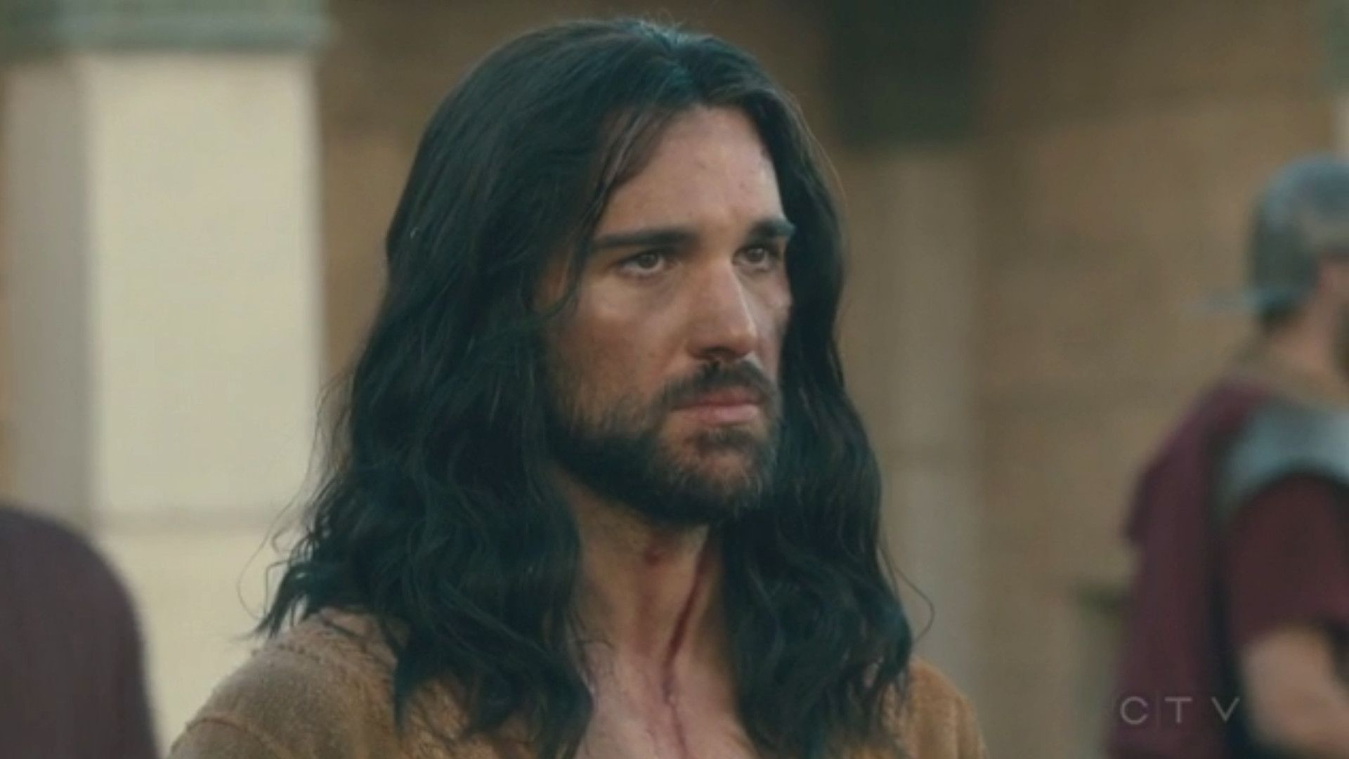 """Juan Pablo Di Pace as Jesus from the 2015 miniseries, """"A.D. The Bible Continues"""""""