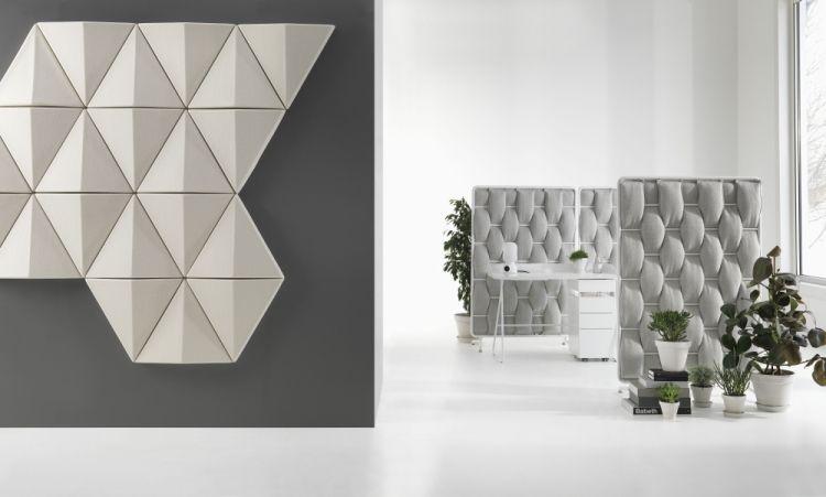 25 Design Schallabsorber und dekorative Trennwände | Design ...