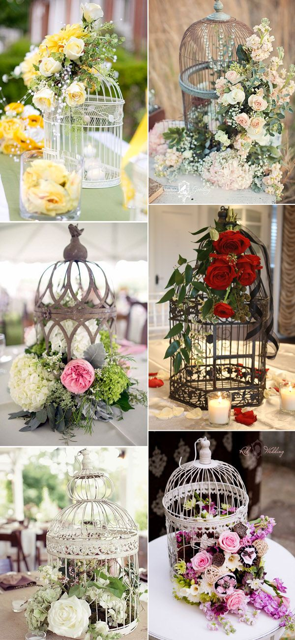 30 Birdcage Wedding Ideas to Make Your Wedding Stand Out Vintage