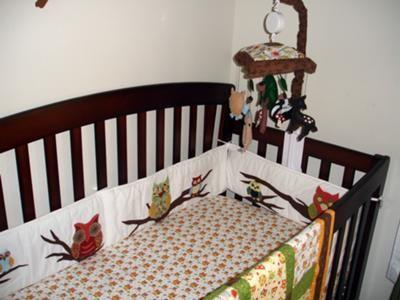 Baby Boy Owl Nursery Bedding Our S Custom