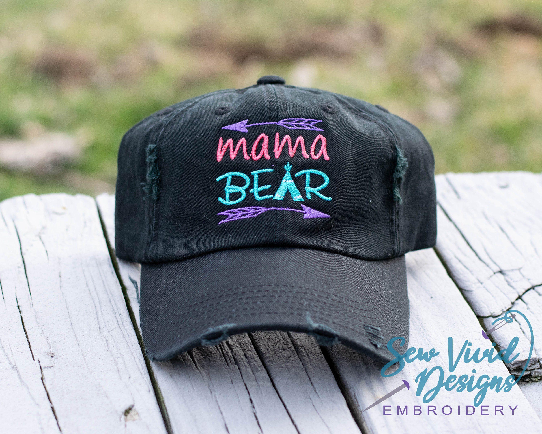 be8d7bb8809e4 Mama Bear Custom Trucker hat for Women