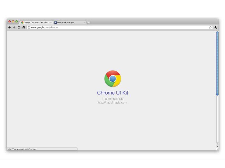 Chrome UI Kit by Todd Hamilto