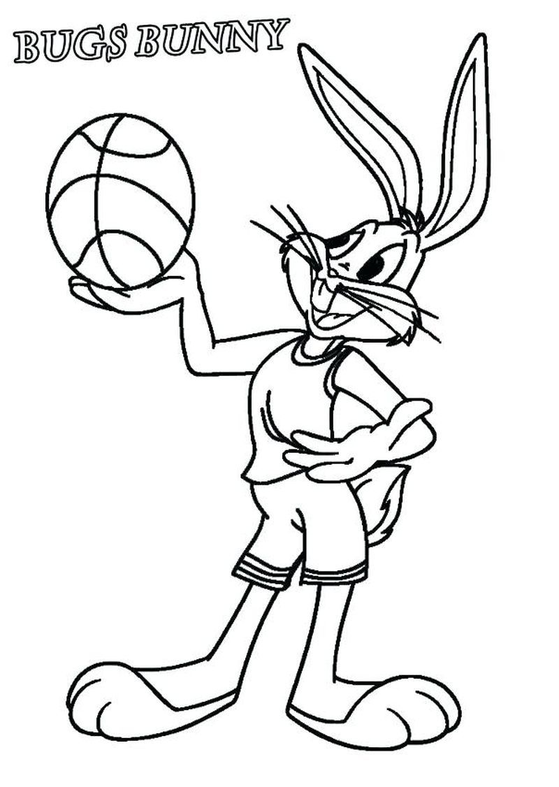 free basketball coloring pages printable di 2020