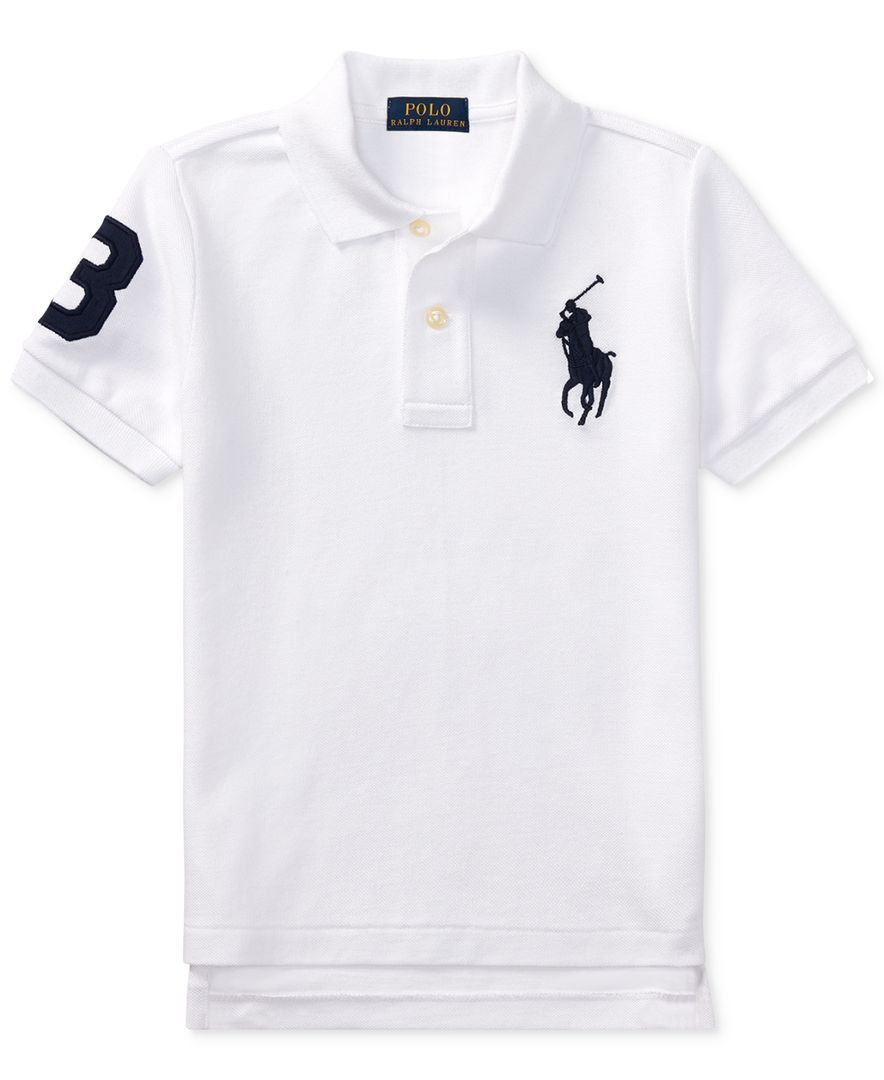 White Polo Shirts For Toddlers Joe Maloy