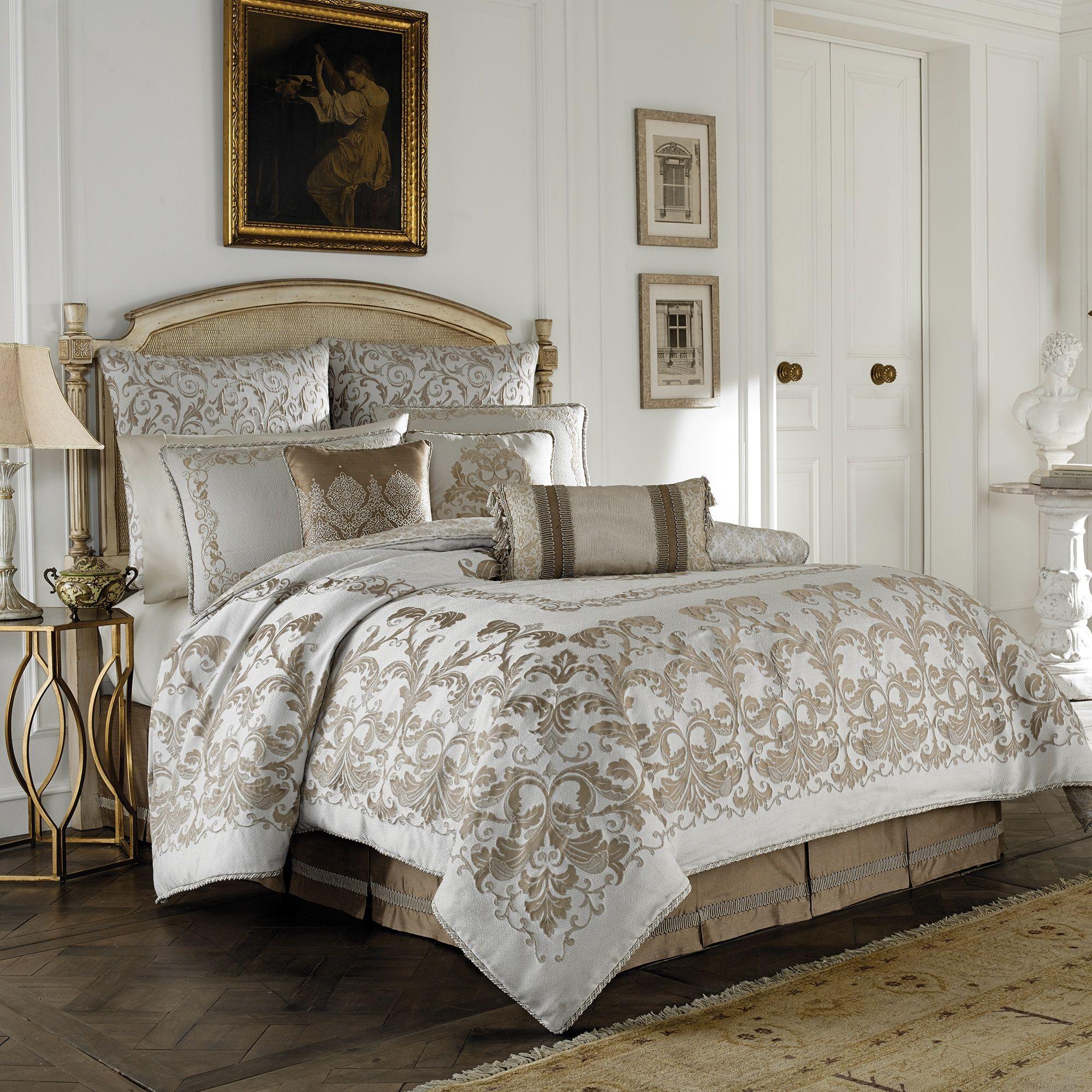 Croscill Monroe Ivory 4piece Comforter Set Overstock