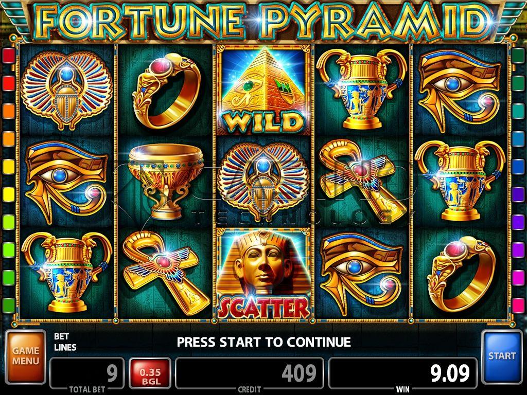 Pyramid Fortunes Slot Machine