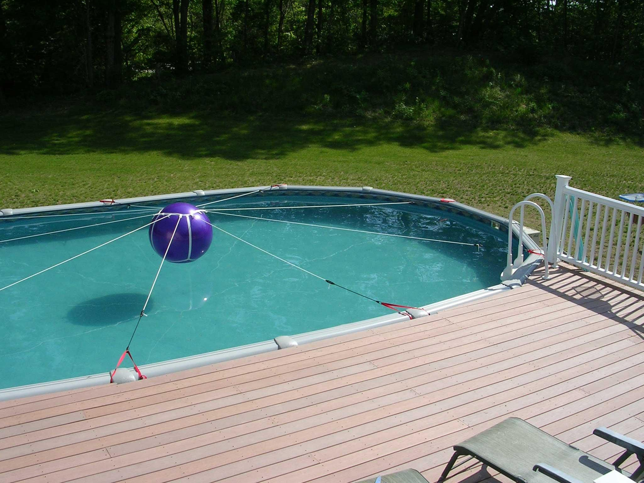 Amazing Above Ground Pool Winter Cover Support System