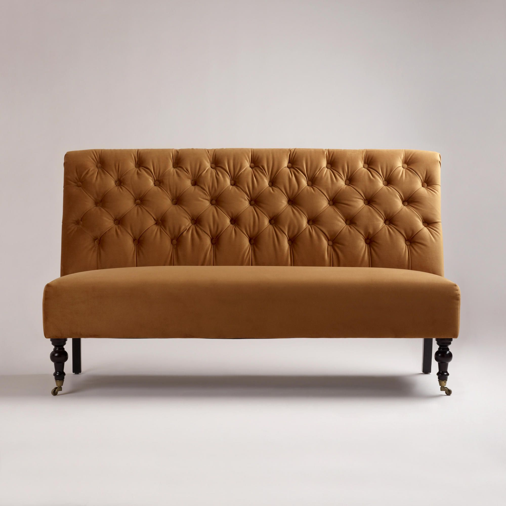 Superb Bench For The Dining Room Table Instead Of Chairs (Goldenrod Harper  Banquette | World Market