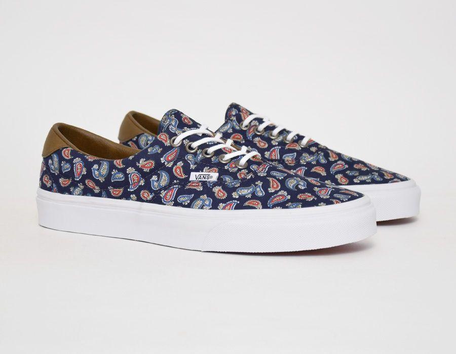 dbbff0074f Vans Era 59 Paisley - Blue  sneakers