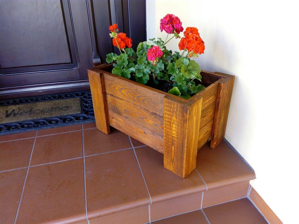 Donica Ogrodowa Drewniana Producent Okazja 6268610524 Oficjalne Archiwum Allegro Planters Planter Pots