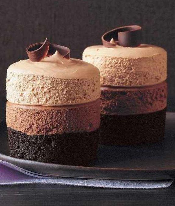 Yummy chocolate mini dessert..