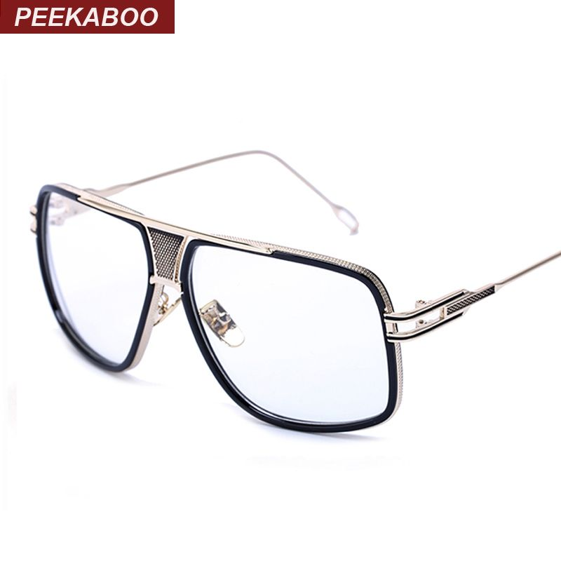 Peekaboo Newest high quality oversized big eye glasses frames for ...