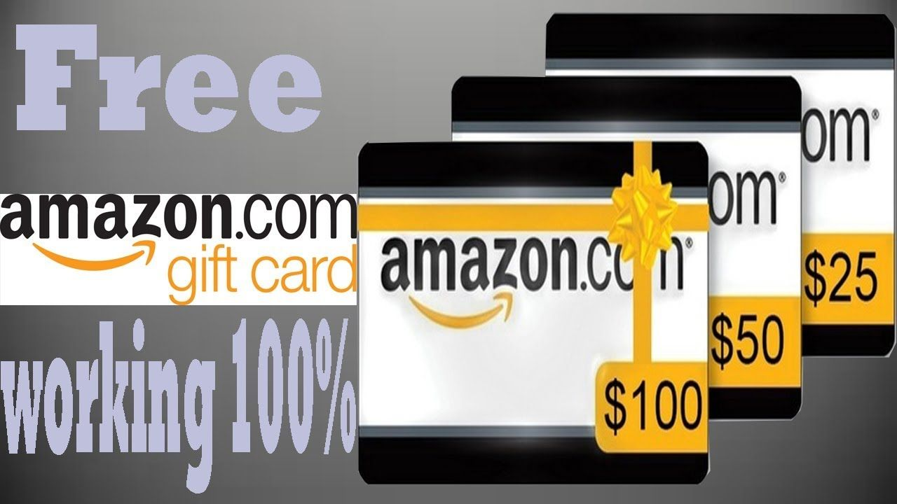 Free Amazon Gift Cards Free Amazon Gift Amazon Free Gift Card