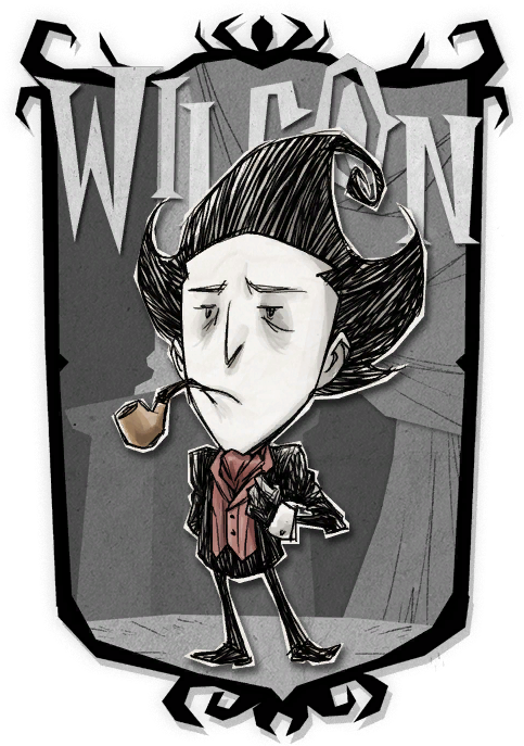 Wilson   Don't Starve Together Character Portraits
