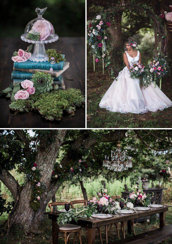 An enchanted garden fairytale wedding inspiration  princess inspired blog invitations pinterest also