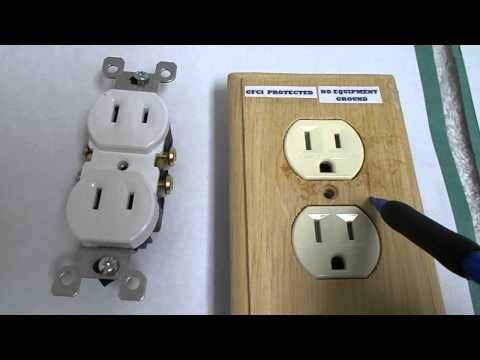how to ground an old style electrical outlet box part 1 youtubehow to ground an old style electrical outlet box part 1 youtube