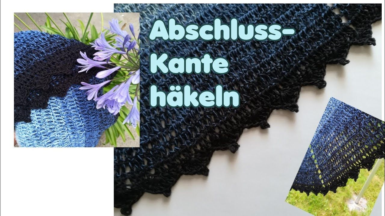 Abschluss Kante Borte Rand Hakeln Fur Ein Tuch Decke Etc