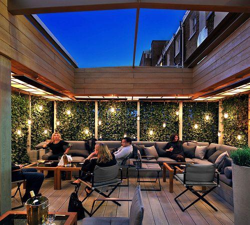 Restoration Hardware New York Rooftop: Evening Terrace In 2019