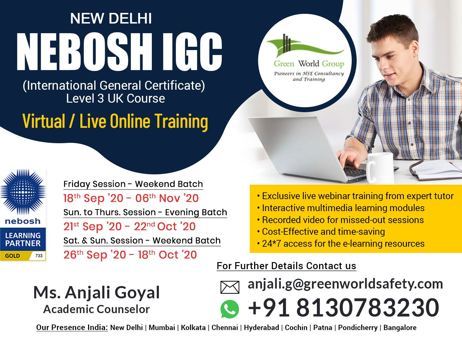 Attractive Offer for Safety Course in New Delhi in 2020