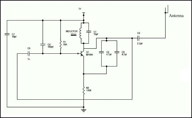 Simple Mobile Jammer Circuit | Pinterest | Circuit diagram, Circuits ...