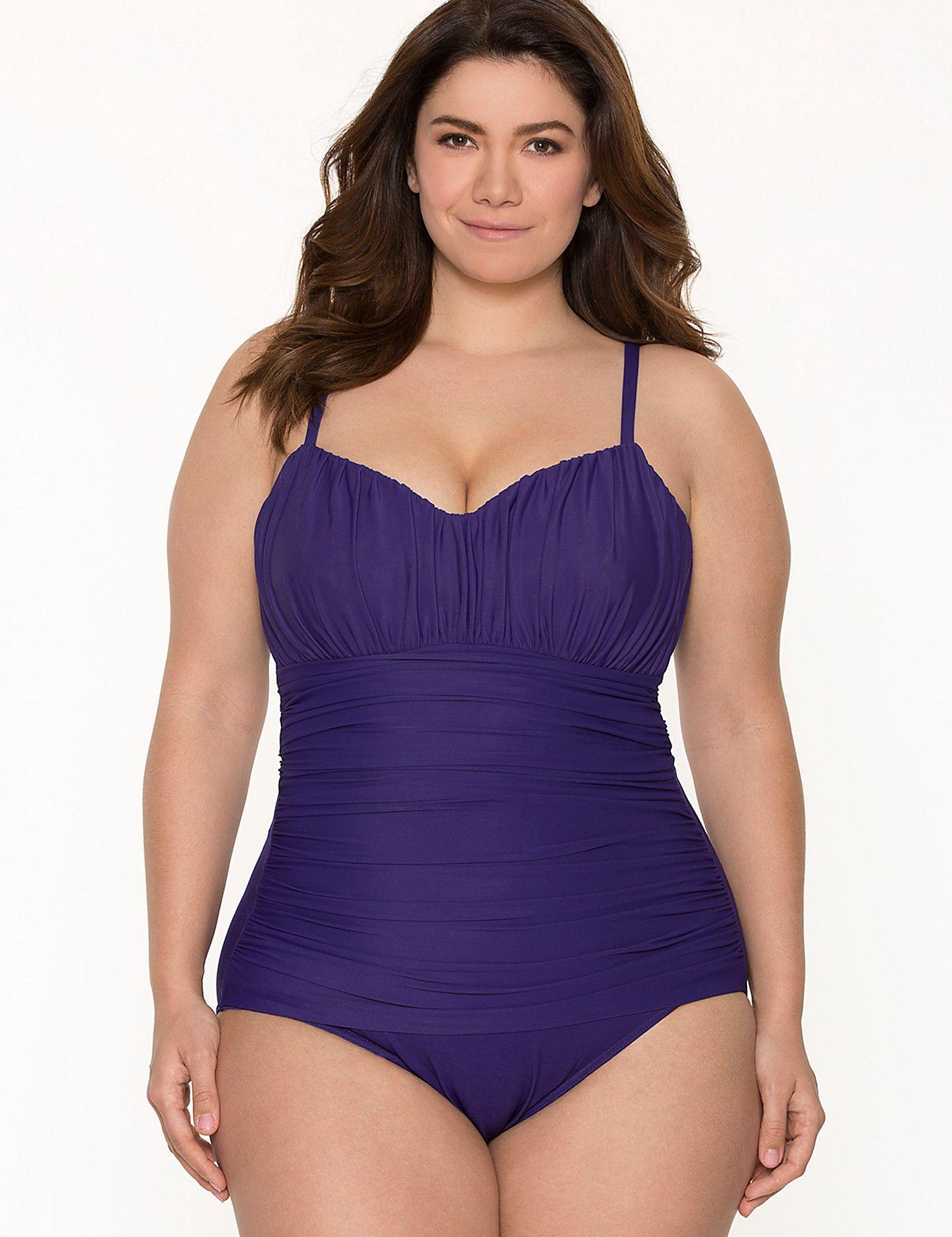 6f94b999f1c Plus Size Rialto One-piece Swim Suit by Miraclesuit™ | Lane Bryant ...