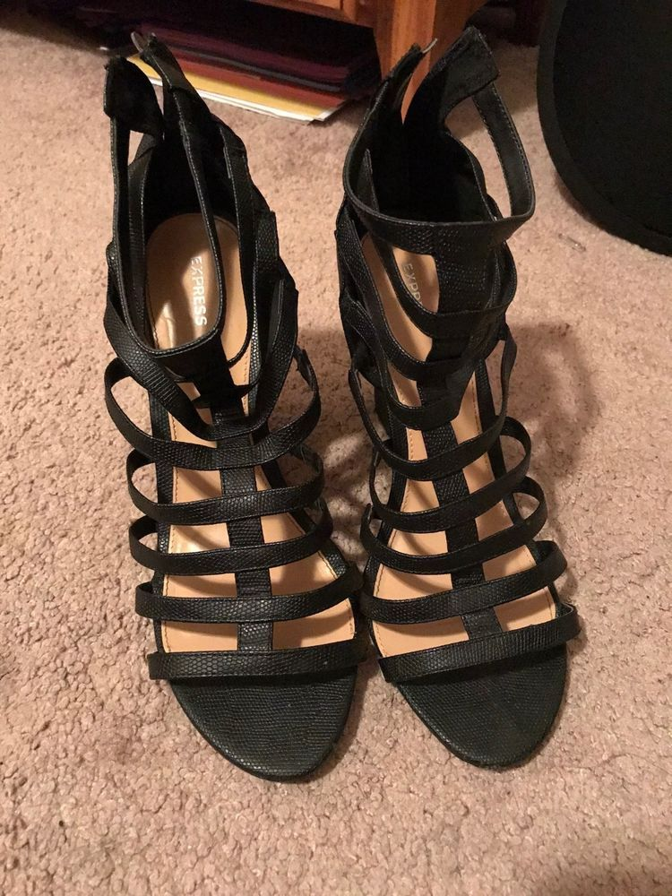 669d5611b Express Black Wedges Womens Size 10  fashion  clothing  shoes  accessories   womensshoes  heels (ebay link)
