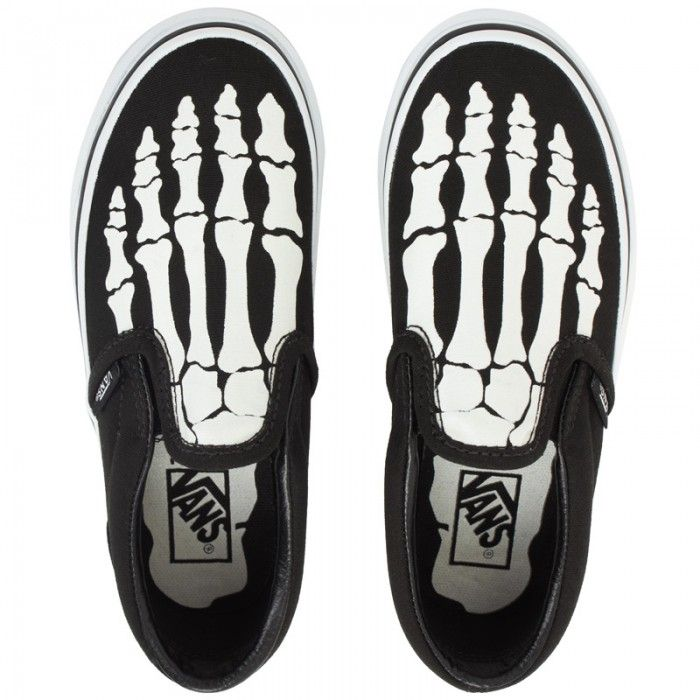 Glow in the Dark #Vans #Skeleton