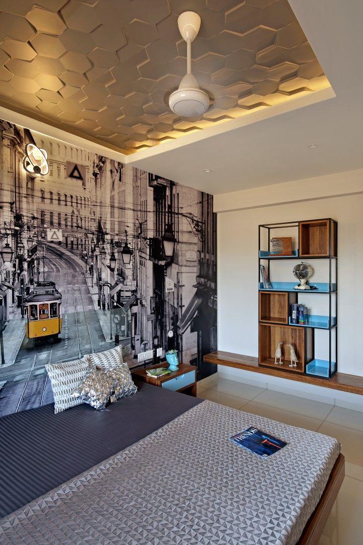 Sample villa interiors for alaswad villas vadodara design blogbed designhouse also best studio baroda images bed bedroom rh pinterest