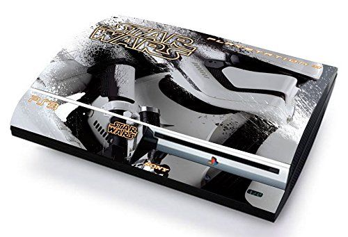 Star wars skin cover ps3 fat hd limited edition decal cover adesiva sticker playstation 3