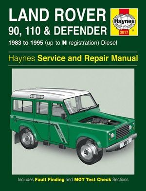 haynes service and repair manual land rover 90 110 and defender rh pinterest com Land Rover Discovery Owner's Manual Land Rover Discovery Owner's Manual