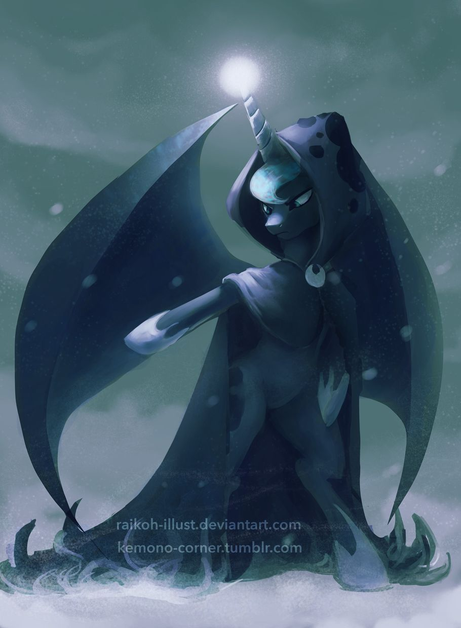 YAY LUNA I mean Hearths Warming ghost or whatever bUT LUNA ...