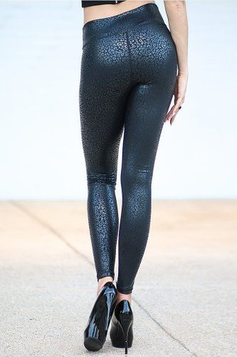 ab8ed96b34954 Amazon.com: Platinum Sun Women's Leopard print black compression ...