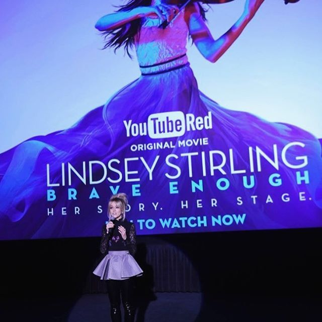 lindsey stirling brave enough movie