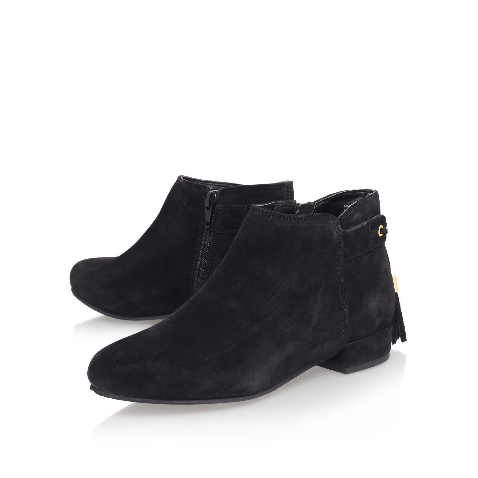 tassel black flat ankle boots from Carvela Kurt Geiger | Boots ...