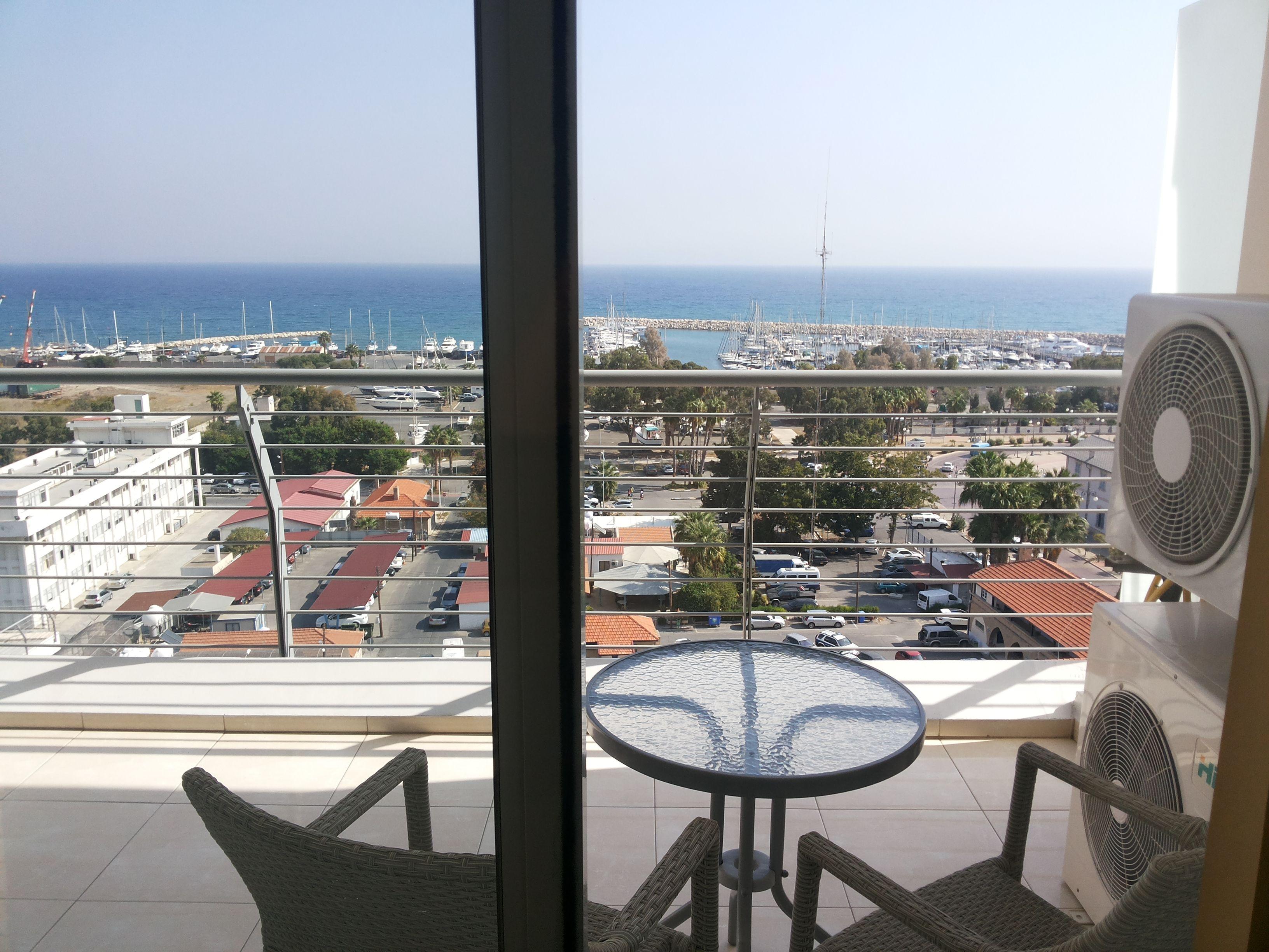 Cyprus - Larnaca - Harbour view
