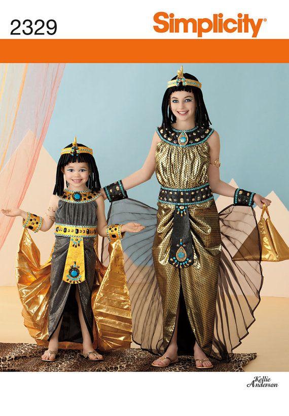Girls' Egyptian Cleopatra Halloween Costume