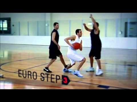 Manu Ginobili Euro Step Youtube With Images Basketball