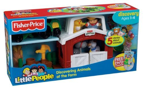 Fisher Price Little People Mini Farm Discovering Animals At The Farm