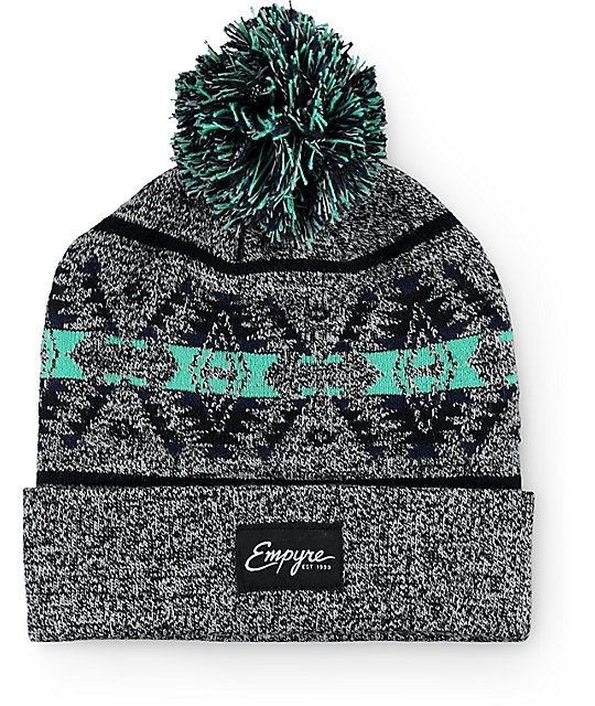 25ee785ea9f Add a fun and festive new look to your beanie collection with a mint and  navy
