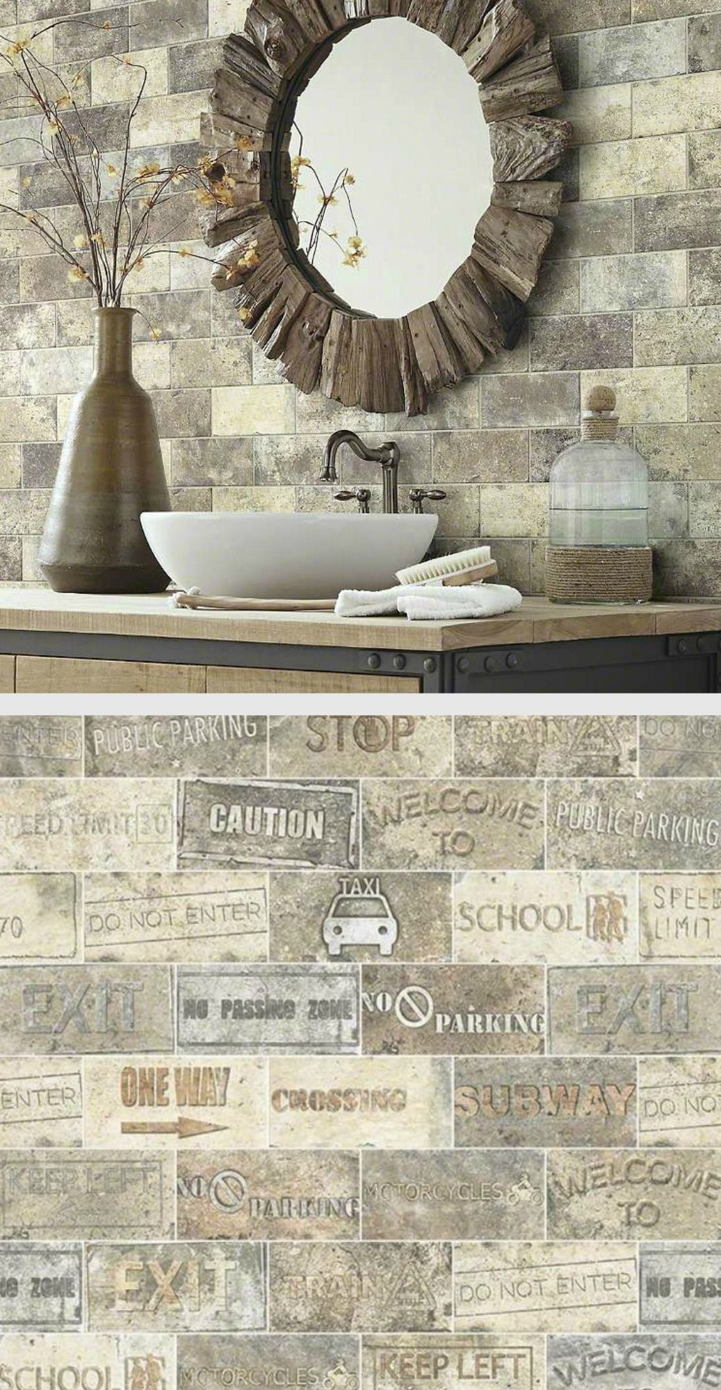 This Porcelain Tile Looks Like Old Reclaimed Brick! The Shaw San Francisco  Collection Has The