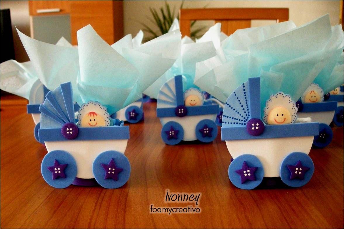 Recuerdo Babyshower Nacimiento Foamycreativo Foami Manualidades Canastillas De Bebe Recuerdos De Baby Shower