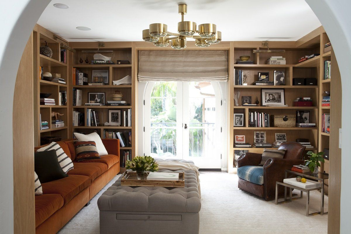 contemporary office and study in los angeles ca by nate berkus associates - Bookshelves Los Angeles