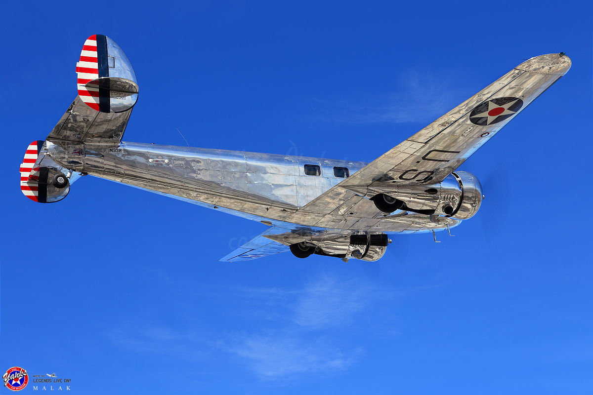 The Heritage Flight of Electra Jr. (With images