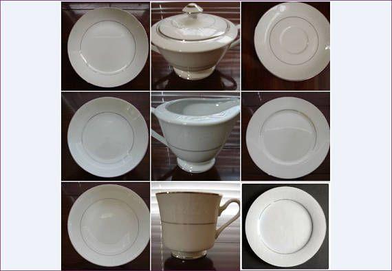 Whitehall 54 Pc Dinnerware Set 5011 Fine China Of Japan Milk