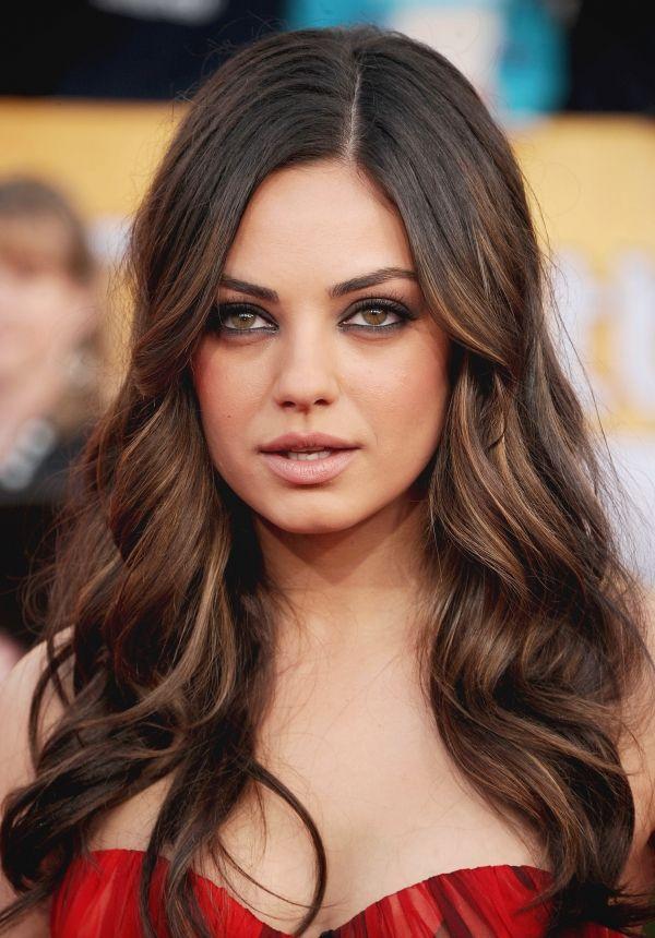 Mila Kunis Eye Makeup Hair Is So Gorgeous Mila Kunis Pinterest